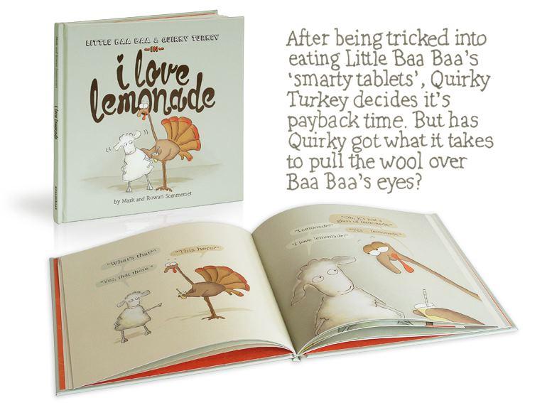 I Love Lemonade ~ new children's book