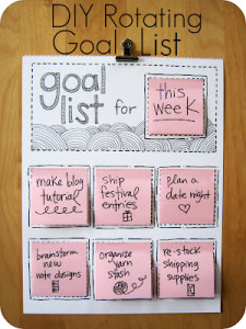 Homework Goal Setting – Keeping it simple