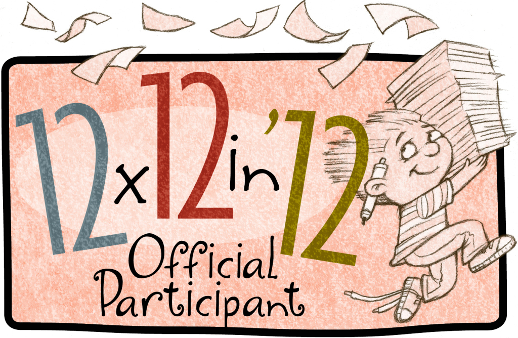 12 x 12 in 2012 Challenge – I AM IN!