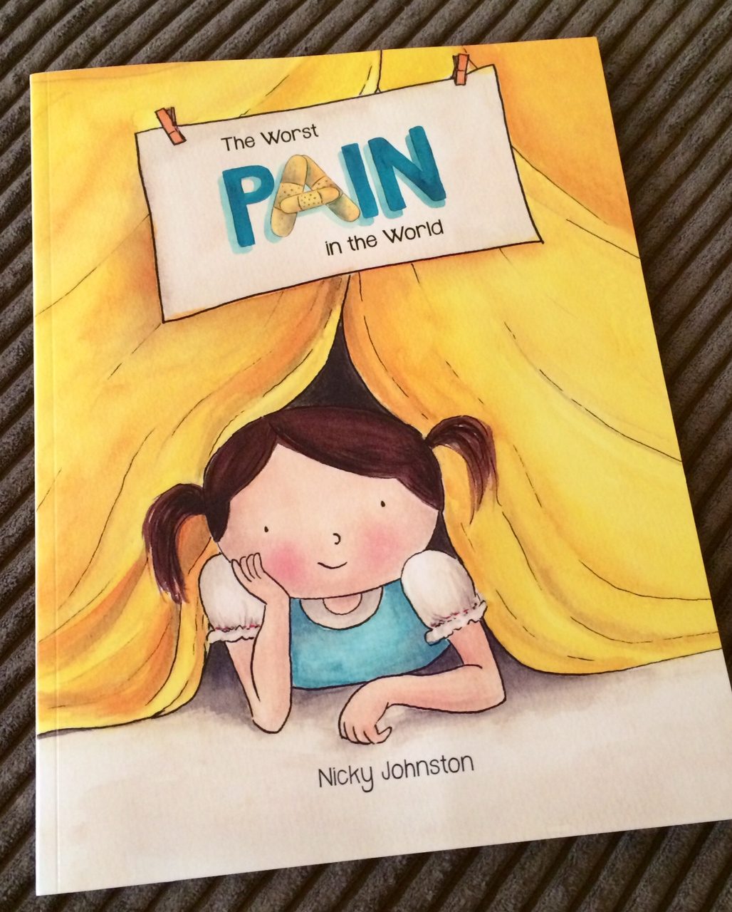 Children's book about juvenile arthritis