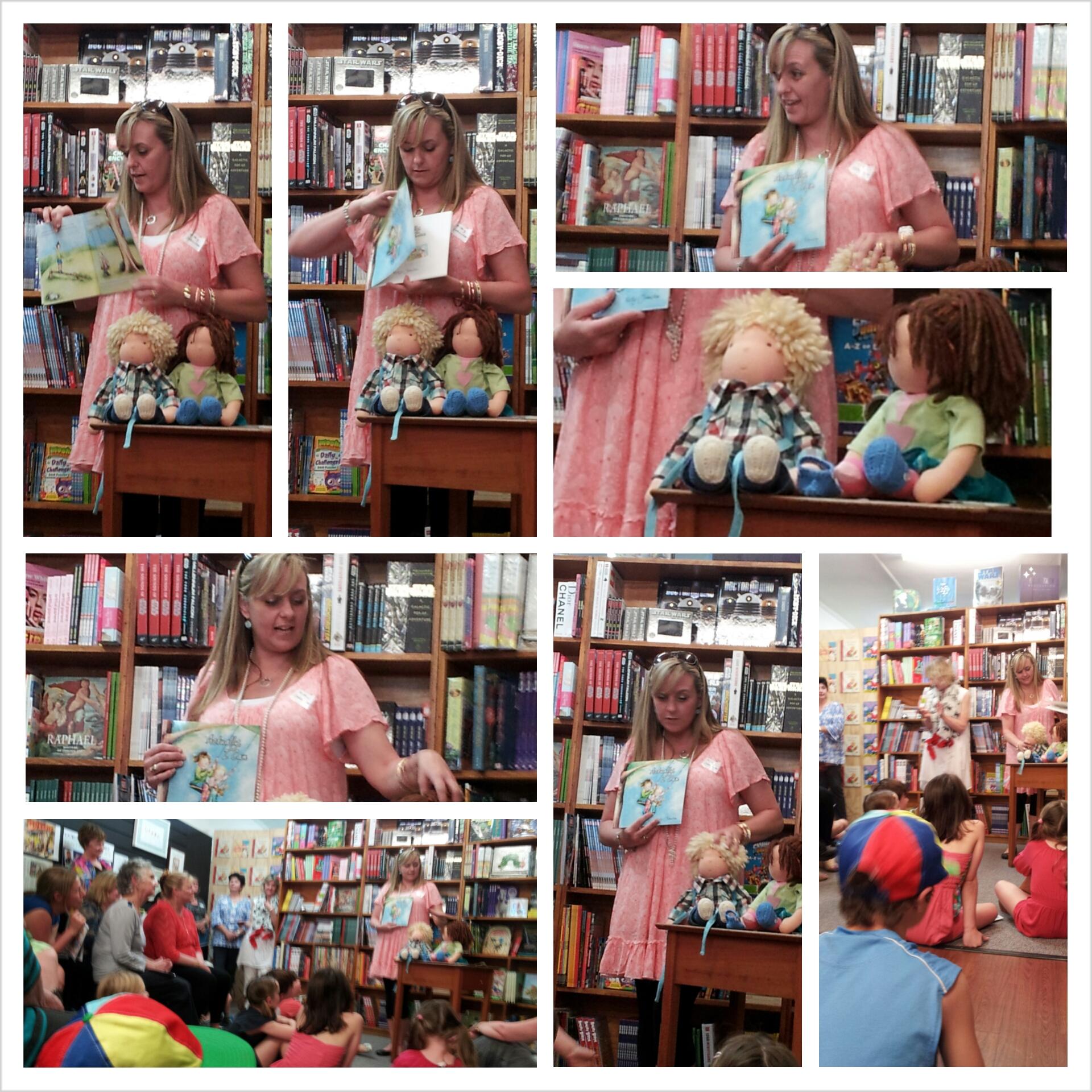 bookshop visit