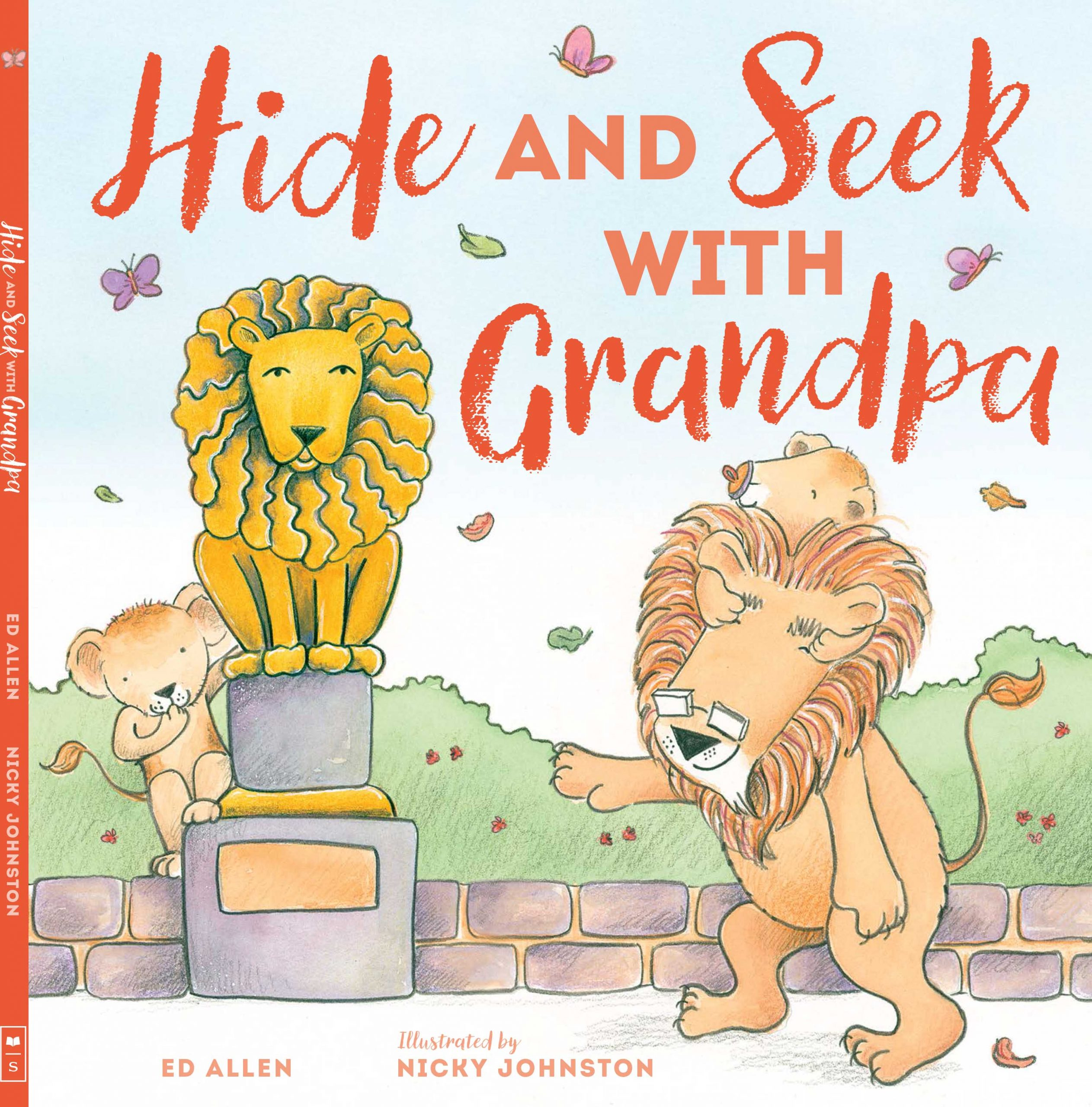 Book Trailer ~ Hide and Seek with Grandpa