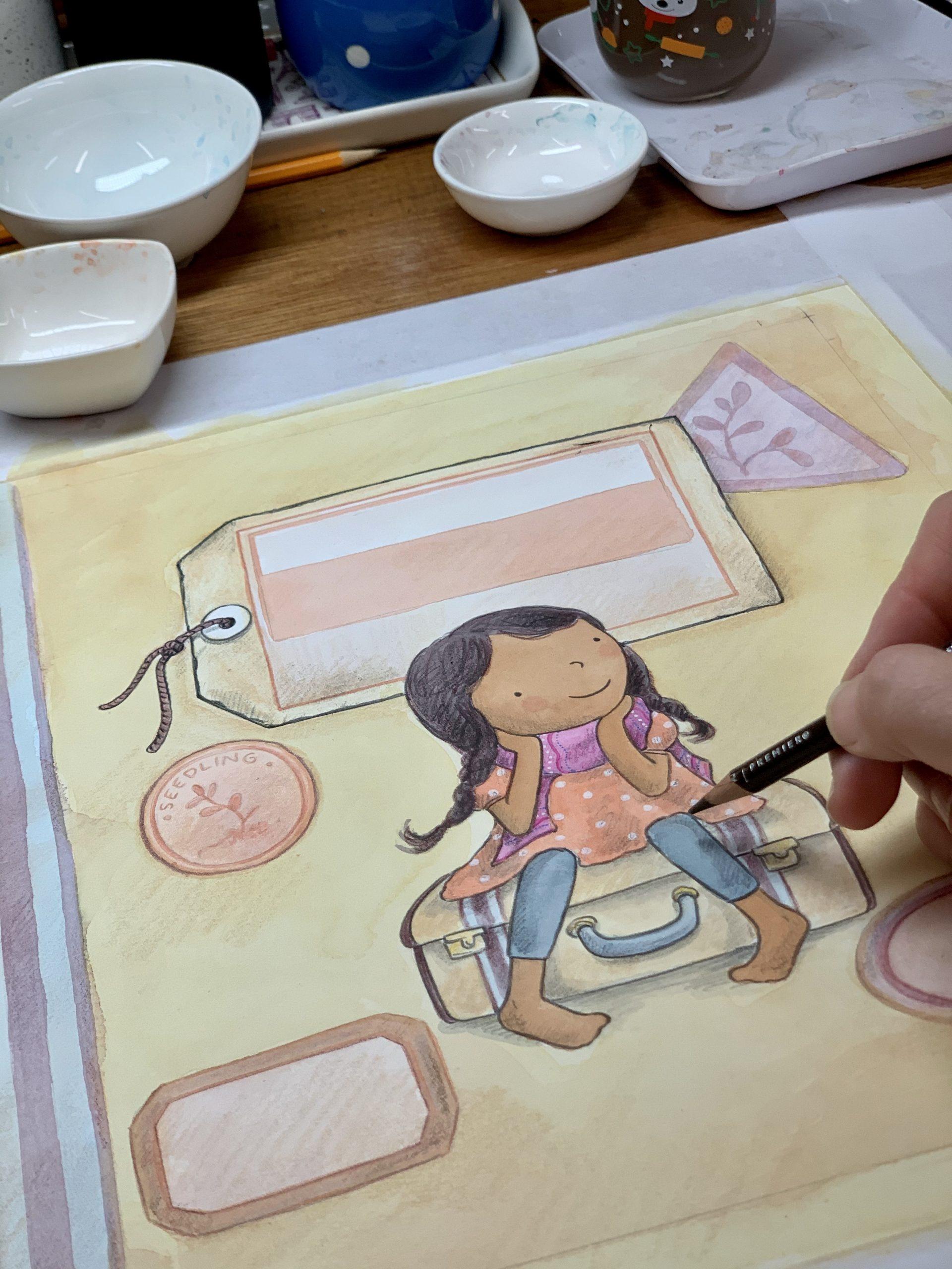 amiras-suitcase-illustration-process